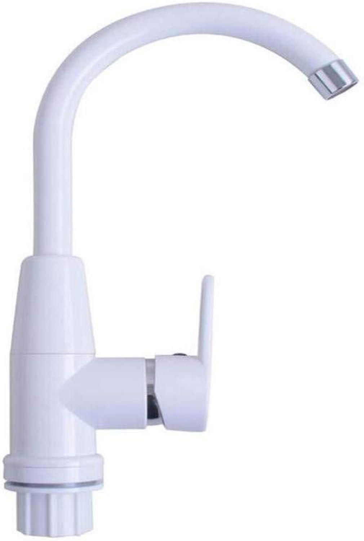 Taps Kitchen Sinktaps Mixer Swivel Faucet Sink Plastic Steel Tap Pot Water Tap Single
