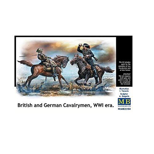 Master Box Ltd. MB35184 Figuren British and German cavalrymen,WWI era