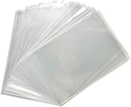 DUE ESSE SRL 100 Buste - Sacchetti di chellophane Trasparente PPL Anche per Uso Alimentare (50 x 70 cm)