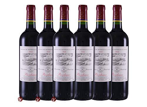 Rothschild (Lafite) Prestige Bordeaux AOC 2016 (6 x 0.75 l)