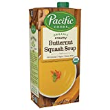 Pacific Foods Organic Creamy Butternut Squash Soup, 32oz, 12-pack