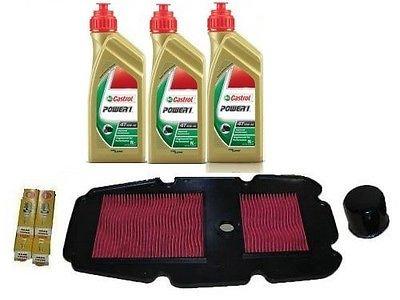Kit Honda Transalp 650 : Huile Castrol Power 1 + Filtre à huile + Filtre à air + Bougies
