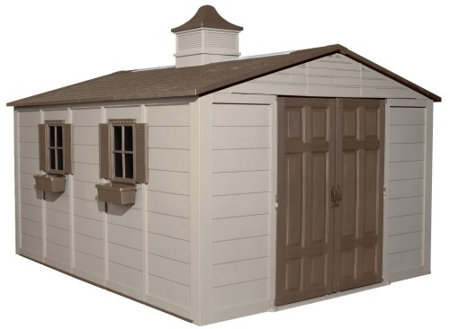 Hot Sale Suncast A01B37C03 Storage Building, 10-ft x 12-ft