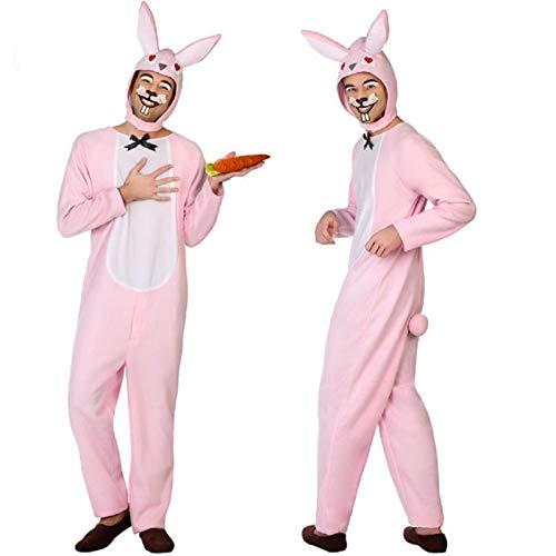ATOSA disfraz conejo rosa hombre adulto XL