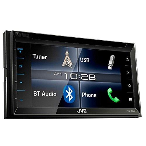 JVC KW-V320BT DVD/CD/USB-receiver met Bluetooth, zwart