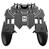 Specially designed for PUBG, trigger feel, do not block the screen, do not block keys, suitable for mobile phones Physical pressing, sensitive without delay. A solid handle with good material that holds the phone firmly and does not let it slip or fa...