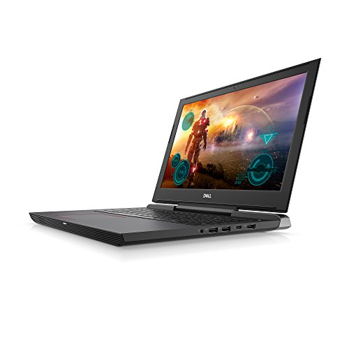 "Dell i7577-5241BLK-PUS Inspiron LED Display Gaming Laptop - 7th Gen Intel Core i5, GTX 1060 6GB Graphics, 8GB Memory, 128GB SSD + 1TB HDD, 15.6"", Matte Black"