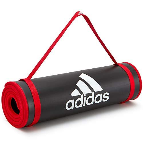 adidas Unisex Trainingsmatte, Rot,Einheitsgröße EU
