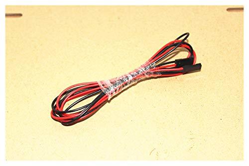 DNKKQ Einfach 10 Sets/Lot 100 cm 2pin 2 pin weiblicher weiblicher bis weiblicher Jumper drahtdupontkabel für 3D drucker zerlegen