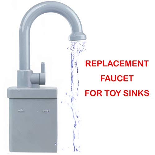 Liberty Imports Kids Toy Kitchen Sink Faucet Replacement...