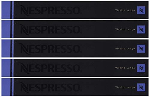 Nespresso Vivalto Lungo, 5er Pack, 5 x 10 Kapseln