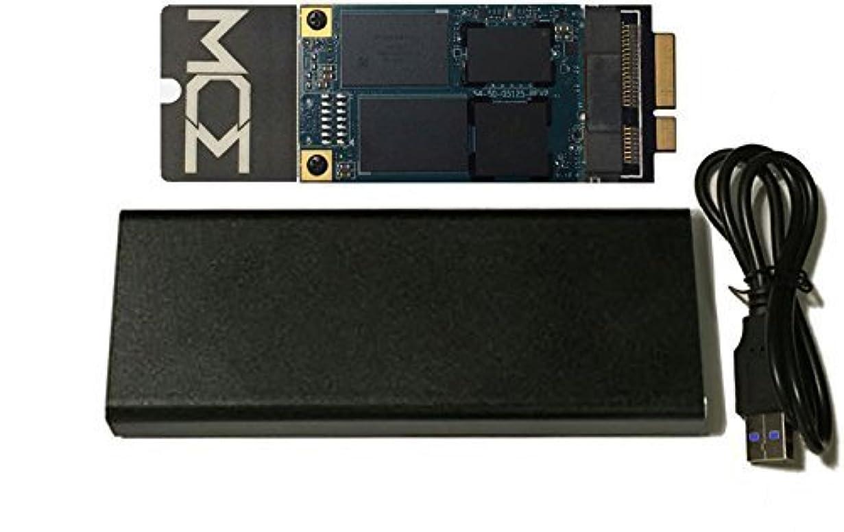木ポータブル南極MCE 2tb内蔵SSDフラッシュアップグレードfor MacBook Pro Retina (Mid 2012?–?Early 2013?)?–?Includes USB 3.0エンクロージャの元ドライブ&インストールキット!