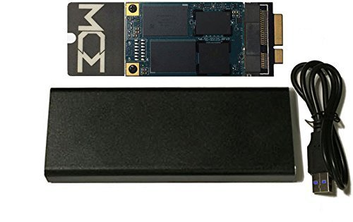 MCE Technologies 1TB Internal SSD Flash Upgrade for MacBook Pro Retina (Mid 2012 - Early 2013) - Includes USB 3.0 Enclosure for Original Drive & Install Kit!