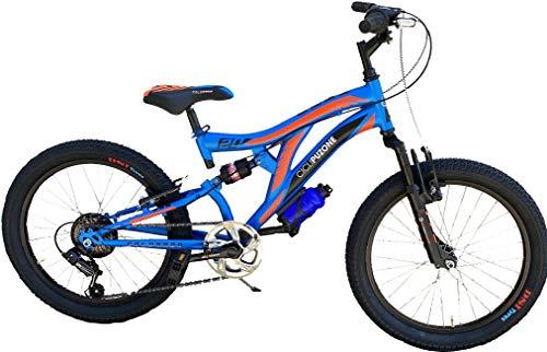 Bici Misura 20 Bambino MTB Full Suspension 6V Colorado Art. CL20