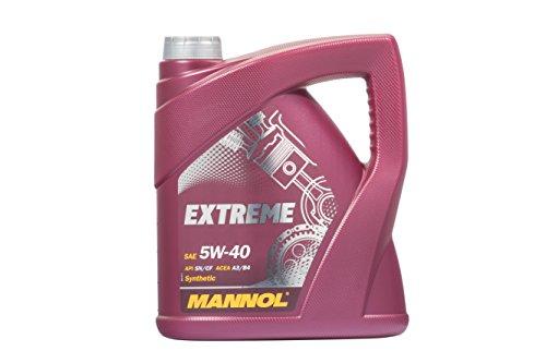 MANNOL Extreme 5W-40 API SN/CF Motorenöl, 4 Liter