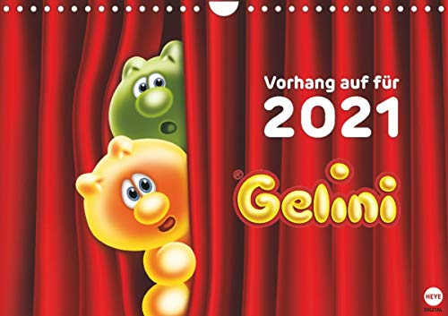Gelini Posterkalender (Wandkalender 2021 DIN A4 quer)