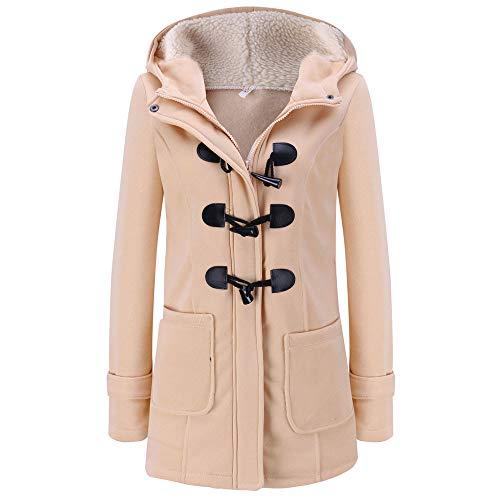 Luckycat Frauen warme Langarm Pullover Bluse Kapuzenjacke Mantel Lange Oberbekleidung Jacken Mäntel Sweatjacke Winterjacke Fleecejacke Steppjacke