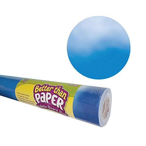 Teacher Created Resources Better Than Paper Bulletin Board Roll, 4' x 12', Clouds, 4 Rolls