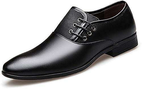 LEDLFIE Herren Business Dress Schuhe Frühling Slip auf Arbeit Hochzeitsschuhe