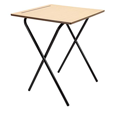 Office Hippo Home Working or School Classroom Folding Desk,...