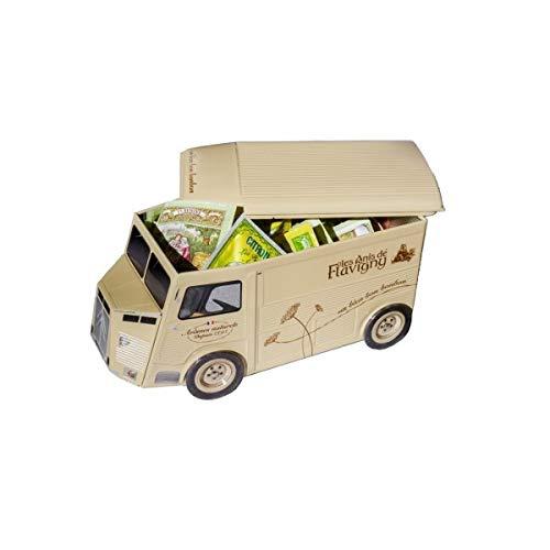 Camion des Anis 30 sachets • Les Anis de Flavigny • Boite de bonbons métallique • Bonbons naturels • Lot bonbon • Anis de Flavigny