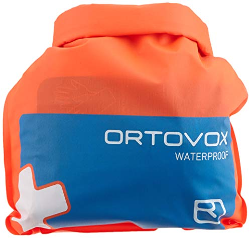 Ortovox Unisex-Adult First Aid Waterproof Erste Hilfe Set, Shocking Orange, One Size