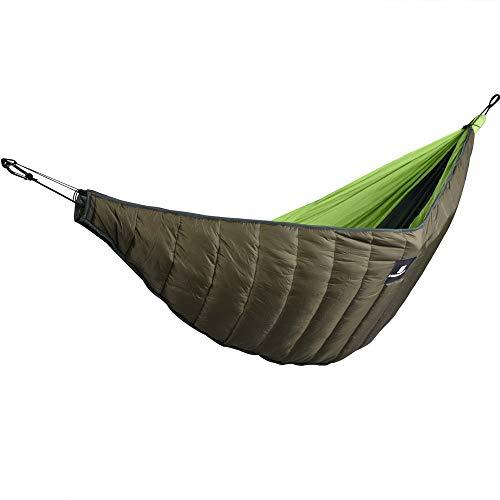 Lixada Hamac de Camping en Plein Air Ultra-léger sous-Matelas Portable D'extérieur Hiver Chaud sous Une Couverture de Couette Coton Hamac