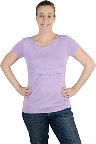 Latched Mama Con Cierre Mama Enfermería tee Shirt