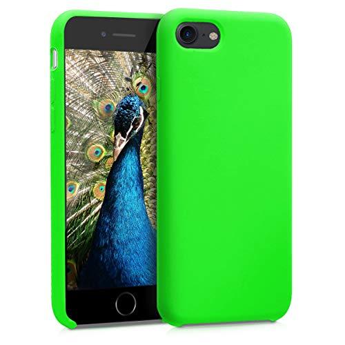 kwmobile Cover Compatibile con Apple iPhone 7/8 / SE (2020) - Custodia in Silicone TPU - Back Case Protezione Cellulare Verde Lime
