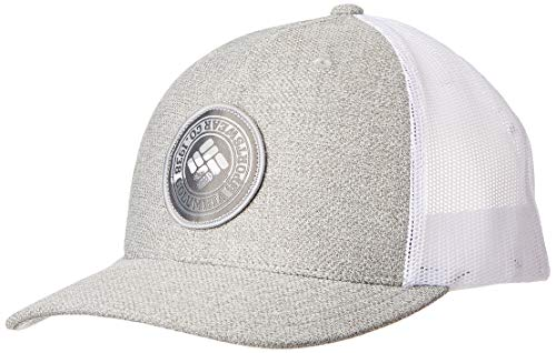 Columbia Men's Mesh Snap Back Hat, Grey Heather, One Size