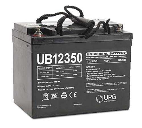 Universal Power Group UB12350 12V 35AH SLA Internal Thread Battery for MB857-35 -SU AGM 35AH U1
