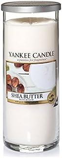 Yankee Candles Large Pillar Candle - Shea Butter (Pack of 2) - ヤンキーキャンドル大きな柱キャンドル - シアバター (x2) [並行輸入品]