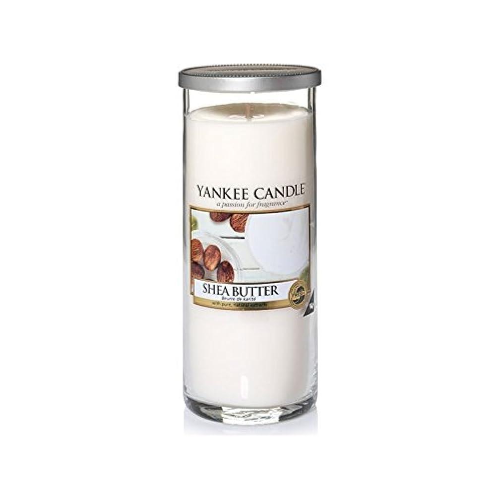 物理フィールド代わってヤンキーキャンドル大きな柱キャンドル - シアバター - Yankee Candles Large Pillar Candle - Shea Butter (Yankee Candles) [並行輸入品]
