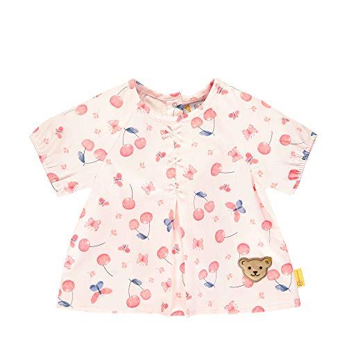 Steiff Mädchen Tunika T-Shirt, Rosa (Barely Pink 2560), 80 (Herstellergröße: 080)
