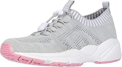 PropÃt womens Stability St Sneaker, Grey/Pink, 8 XX-Wide US