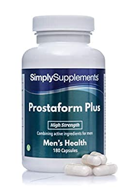 Prostaform Capsules with Pumpkin Seed Extract, L-Glutamine & L-Arginine HCL   180 Capsules   Manufactured in The UK