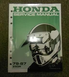 1984 1985 1986 1987 HONDA Z50R Z 50 R Service Shop Repair Manual NEW BOOK x