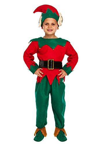 Enfants, Noël, Elf Costume: 4-6 ans