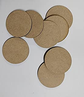 Laser Cut MDF circles for crafts