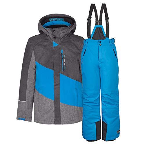 Killtec kinderskipak ski-jack Tamer Jr.+ skibroek Gauror Jr. - Maat: 128-176 - kleurkeuze