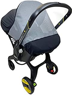 Sasha's Sun and Insect Cover for Doona Infant Car Seat