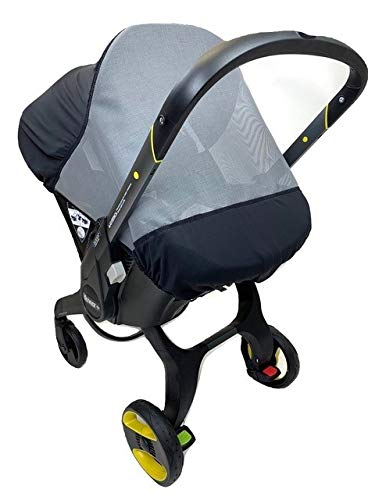 Sasha's Sun and Insect Cover: Compatible with The Doona Infant Car Seat