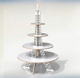 Alzata Alzatina Torre Eiffel per dolci torte cupcake muffin Espositore Stand