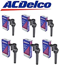 DG513 ACDELCO Ignition Coil FOR 00-09 Ford Mercury Mazda 3.0L BS5082 C1458 DG486 (PACK OF 6)