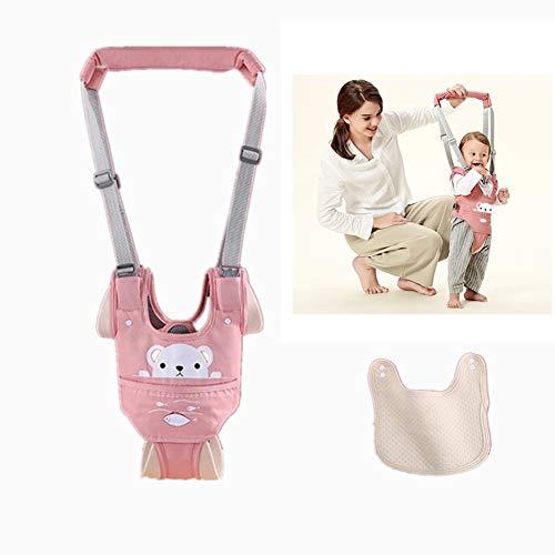 Felly Arnés de Seguridad para Caminar, Arnes Bebes, Ajustable Arneses de Seguridad Bebé con Baberos, a Pie de Caminado Aprendizaje Chaleco Arneses para Niños Bebé Protección 6-36 meses