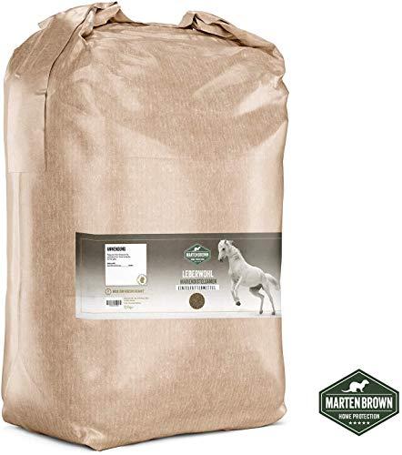 Martenbrown® Mariendistelsamen zur Leberentgiftung & Stoffwechsel Kur bei Pferden, Hunden & Katzen - ganze Mariendistel Samen ohne Zusatzstoffe - 100% Naturprodukt - Made in Germany - 2,5kg