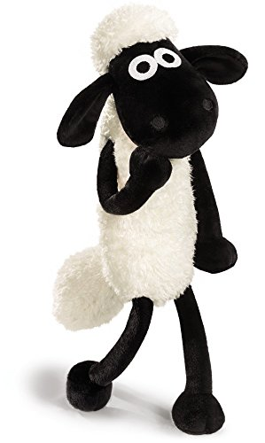 Nici 39658 Shaun the Sheep Plüsch, weiß