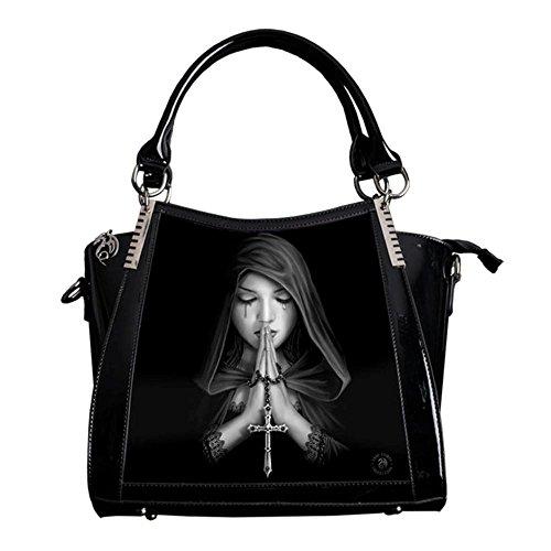 Anne Stokes Gothic Prayer 3d Handbag