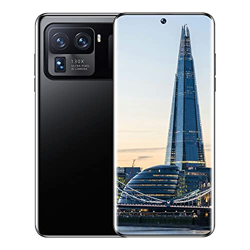 TIM-LI 5G Entsperrtes Smartphone, 48MP+64MP Kamera, 8GB RAM+256GB Speicher, 7,3