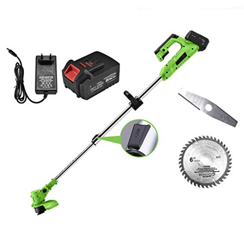 For Sale! Portable Lawn Edger Trimmer, 1000W Motor/Copper Motor/Retractable / 2ah Lithium Battery, S...